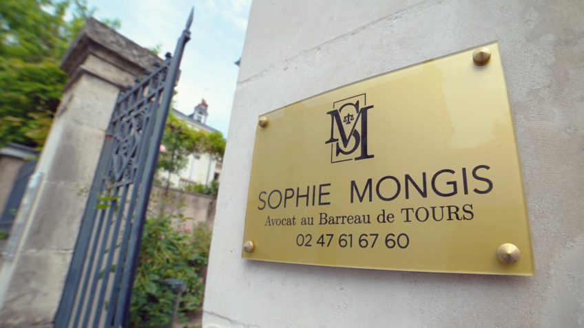 Sophie Mongis Avocat Plaque